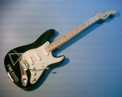 Miniaturgitarre – Fender Stratocaster Pink Floyd