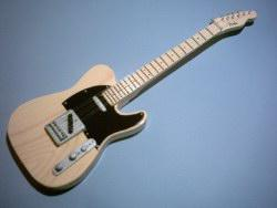 Miniaturgitarre – Fender Telecaster Maple – Keith Richards