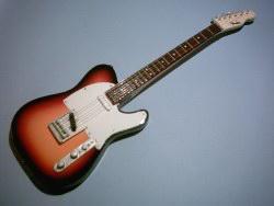 Miniaturgitarre – Fender Telecaster Sunburst
