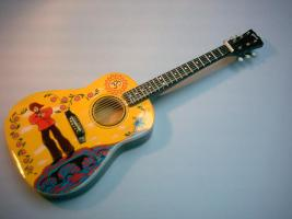 Miniaturgitarre – George Harrison's Yellow Submarine Acoustic