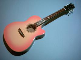 Miniaturgitarre – Gibson Acoustic Cut Away