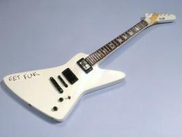 Miniaturgitarre – James Hetfield - Eet Fuk guitar