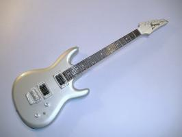 Miniaturgitarre – Joe Satriani All Chrome - Chrome Boy Ibanez