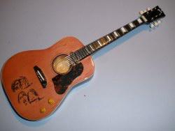 Miniaturgitarre – John Lennon's Gibson Peace – natural-wood