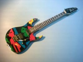 Miniaturgitarre – John Petrucci - Ibanez