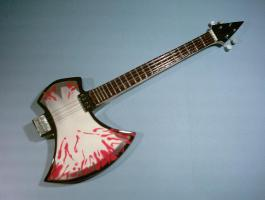 Miniaturgitarre – Kiss - Axe Bass Gene Simmons