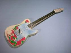 Miniaturgitarre – 'Led Zeppelin' - Jimmy Page Telecaster