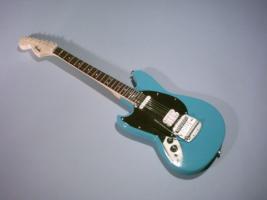 Miniaturgitarre – Nirvana' Kurt Cobain - Bleu Left Handed