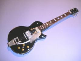 Miniaturgitarre – Old Black – 1953 Gibson Gold Top – Neil Young