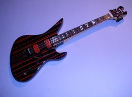 Miniaturgitarre – Synister Gates guitar – Black