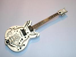 Miniaturgitarre – The Cure Porl Thompson Schecter guitar