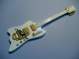Miniaturgitarre – ZZ Top - Billy Gibbons - King Billy guitar