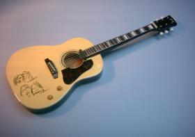 Miniaturgitarre – 'Beatles' John Lennon's Gibson Peace