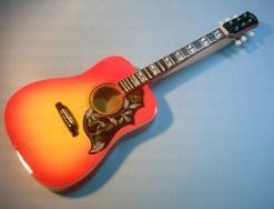Miniaturgitarre –  Acoustic Gibson Hummingbird