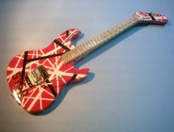 Miniaturgitarre - Eddie Van Halen – Kramer 5150