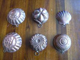 Minibackformen Kupfer