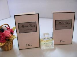 Miss Dior LE PARFUM, Chérie EDP Flakons & 2 x Phiolen 1ml EDP