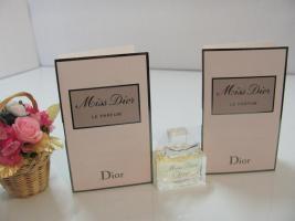 Foto 3 Miss Dior LE PARFUM, Chérie EDP Flakons & 2 x Phiolen 1ml EDP