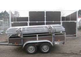 Foto 3 Mobil zerlegbare Pferde Außenboxen 6x3m ab 2.599, - €