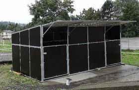 Foto 4 Mobile Außenboxen, Unterstände und Hütten ab 1.699, - €