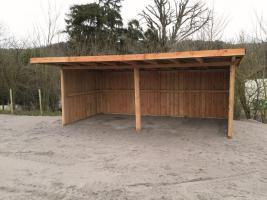 Foto 17 Mobile Außenboxen, Unterstände und Hütten ab 1.699, - €