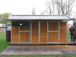 Mobile Außenboxen, Unterstände und Hütten ab 799, - €