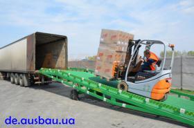 Mobile Laderampe für LKW Ausbau