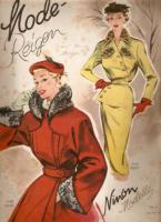 Modehefte aus den 50iger mit Schnittmuster