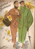 Foto 2 Modehefte aus den 50iger mit Schnittmuster