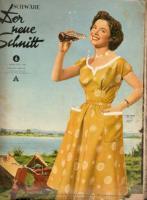 Foto 3 Modehefte aus den 50iger mit Schnittmuster