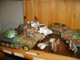 Modell - Panzersammlung 1.u.2.WK