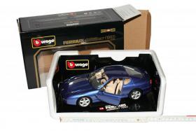 Modellauto Ferrari 456 GT - Farbe dunkelblau - 24 cm Länge - M: 1 zu 18 - in OVP