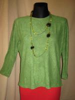 Foto 2 Modern * weich * Original VINTAGE * DESIGNER * Froteé * Pullover * Sweater * Sweat Shirt * Gr. 38- 40/ S- M * pistazien- grün *