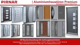 Foto 3 Moderne Designhaustüren Aluminiumhaustüren Haustüren Eingangstüren