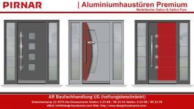 Foto 4 Moderne Designhaustüren Aluminiumhaustüren Haustüren Eingangstüren