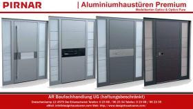 Foto 5 Moderne Designhaustüren Aluminiumhaustüren Haustüren Eingangstüren