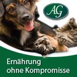 Moderne Ernährung für Hunde und Katzen braucht keine Kompromisse.
