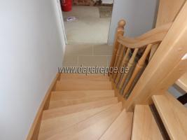 Foto 4 Moderne Treppe von polnischen Hersteller, Holztreppen aus Polen