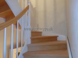 Foto 6 Moderne Treppe von polnischen Hersteller, Holztreppen aus Polen
