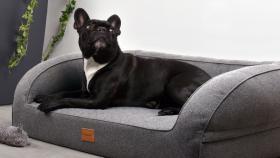 Modernes Hundebett, Silverline Hundekorb viele Größen S -XL auch mit Viscose Füllung °NEU°