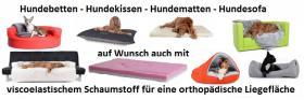 Foto 14 Modernes Hundebett, Silverline Hundekorb viele Größen S -XL auch mit Viscose Füllung °NEU°