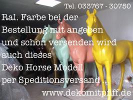 Möchtest Du einen Deko Pferd selbst bemalen ?
