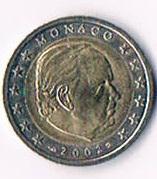 Monaco Original 2 Euro Kursmünze '' 2002 ''