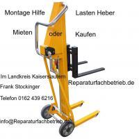 Montage Hilfe, Lasten Heber Mieten oder Kaufen bei Reparaturfachbetrieb.de
