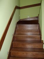 Foto 8 Montage, Treppe, Holztreppe, Massivholztreppe, Innentreppe, Treppe aus Polen , Polnische Treppe, Treppenhaus, Treppe aus Holz