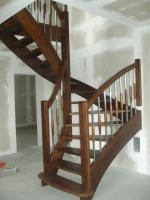 Foto 9 Montage, Treppe, Holztreppe, Massivholztreppe, Innentreppe, Treppe aus Polen , Polnische Treppe, Treppenhaus, Treppe aus Holz