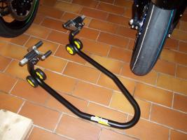 Foto 2 Montage-/ Werkstattständer - Reifenwechsel - Alpha Technik vorne