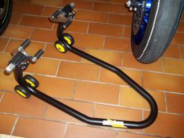 Foto 3 Montage-/ Werkstattständer - Reifenwechsel - Alpha Technik vorne