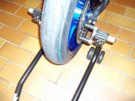 Foto 5 Montage-/ Werkstattständer - Reifenwechsel - Alpha Technik vorne