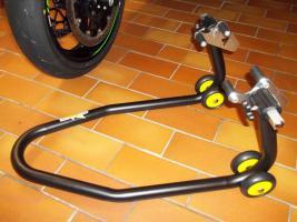 Foto 8 Montage-/ Werkstattständer - Reifenwechsel - Alpha Technik vorne